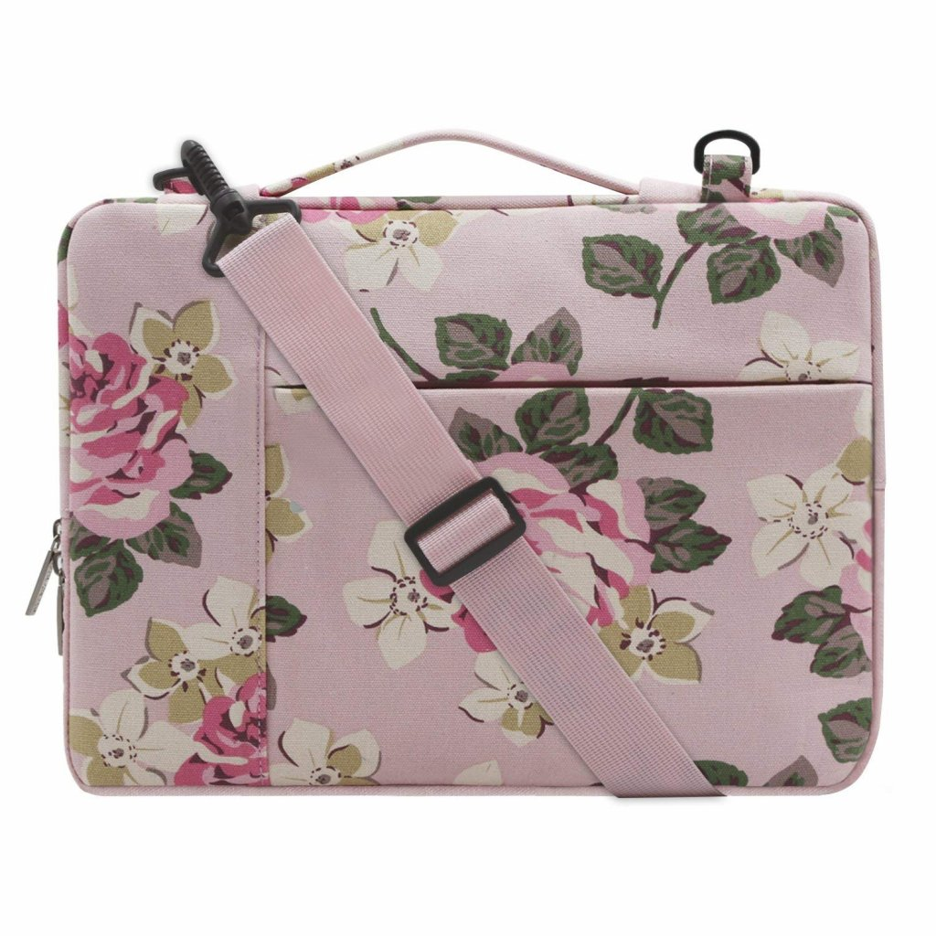 Mosiso Pink Laptop sleeve